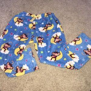 Other - Blue monkey pajama pants